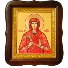 Иулия Анкирская Святая Мученица. Икона на холсте.