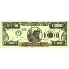 Прикольные наклейки 1 млн. $
