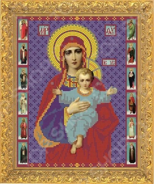 Набор для вышивания бисером «Пресвятая Богородица. Азь Есмь»