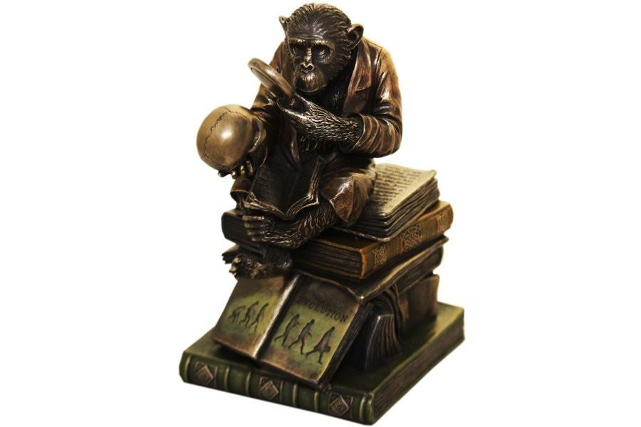Статуэтка-шкатулка Ученая обезьяна