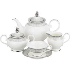 Чайный сервиз на 6 персон Китайские огурцы