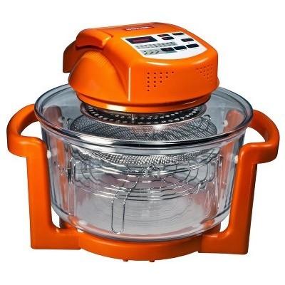 Аэрогриль HOTTER HX-1037 CLASSIC оранжевый