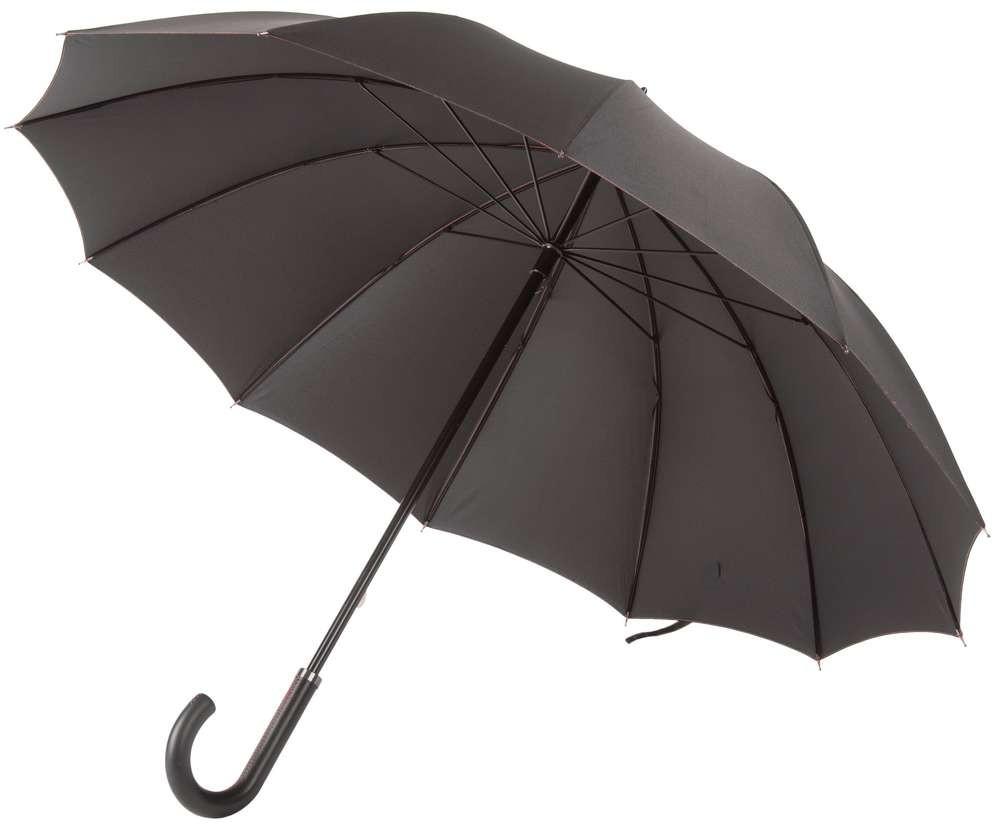 Черный с красным зонт Lui