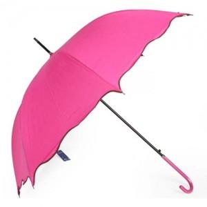 Зонт Лист лотоса (розовый)
