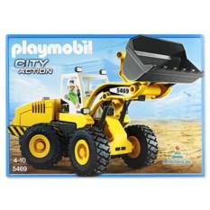 Игровой набор Playmobil «Большой фронтальный погрузчик»