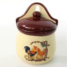 Ёмкость для сыпучих продуктов Петух и курочка