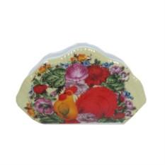 Подставка для салфеток Петух в цветах