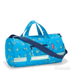 Cкладная детская сумка Dufflebag s cactus blue