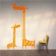 Интерьерная наклейка Жираф