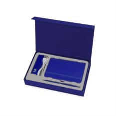 Синий набор для записей с пауэрбэнком Ион