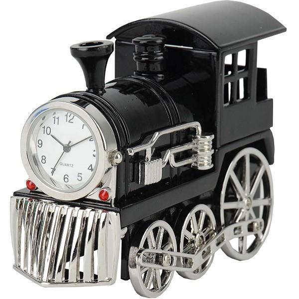 Часы Паровоз, черные