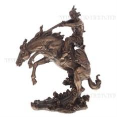 Декоративная фигурка Индеец на коне