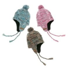 Водонепроницаемая шапка с помпоном и ушками Рябушка