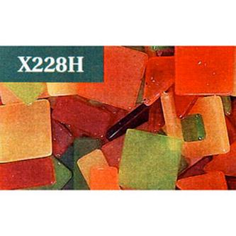 Геометрическая мозаика «Тёплые цвета»
