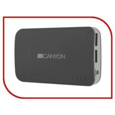 Внешний аккумулятор Canyon CNE-CPB78 7800mAh Dark Grey