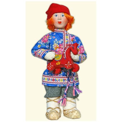 Кукла «Ребёнок с игрушкой»