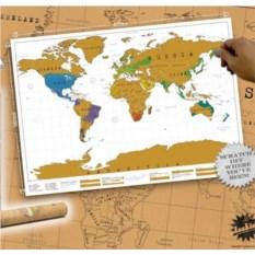Скретч карта мира Еnglish