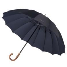 Мужской зонт-трость с деревянной ручкой Big boss