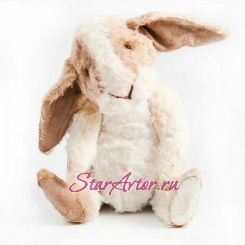 Авторская игрушка в технике Тедди Винтажный Кролик