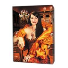 Фото на холсте в подарок близкому человеку (40x60 см)
