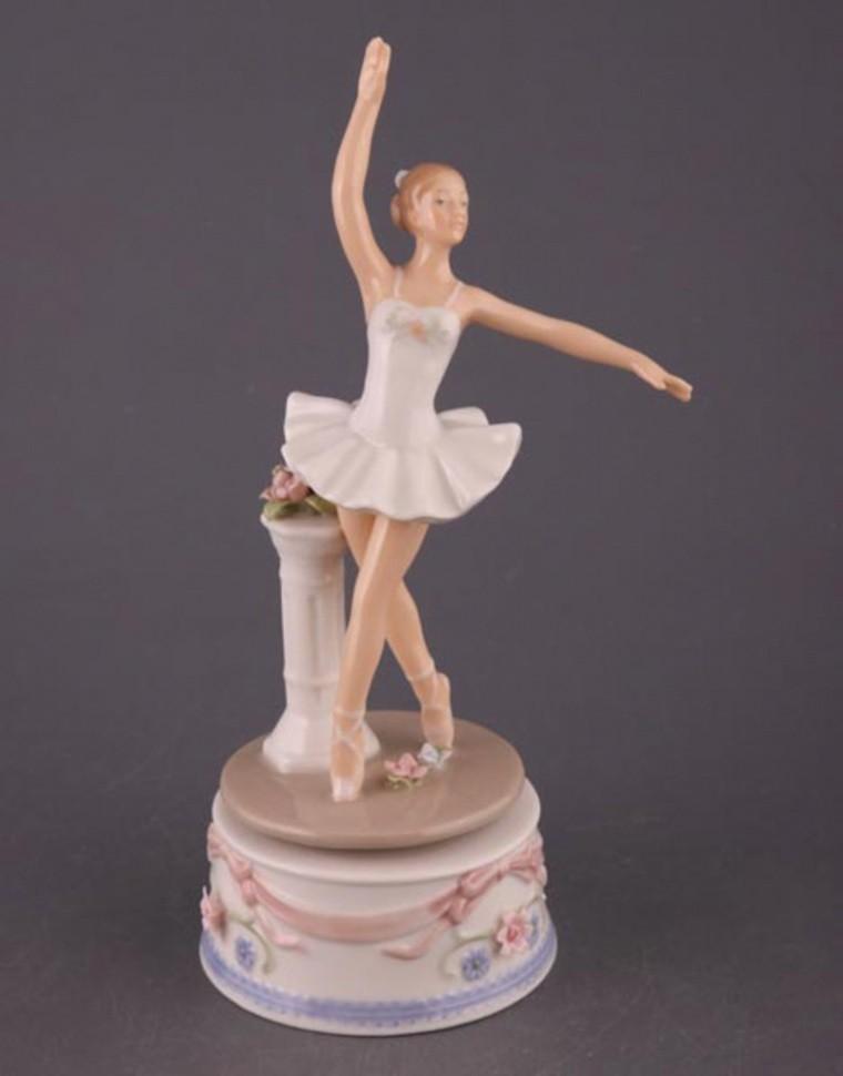 Музыкальная статуэтка Балерина Porcelain Manufacturing
