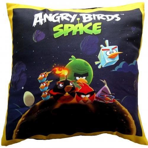 Подушка Angry Birds Птички в космосе