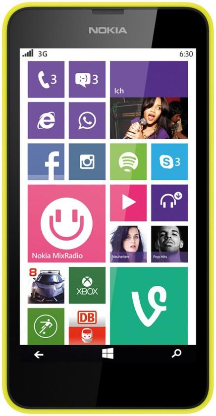 Телефон Nokia 630 Dual Yellow