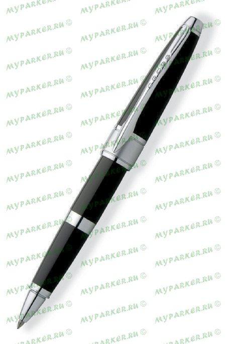 Ручка-роллер Cross Apogee Black