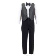 Серый костюм M&D