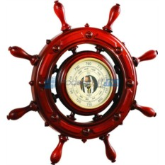 Барометр-штурвал Штиль, диаметр 70 см