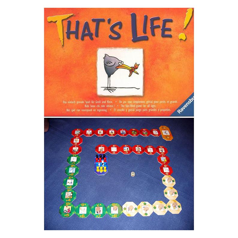 Настольная игра «Это жизнь»