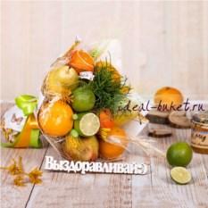 Витаминный букет из фруктов На здоровье