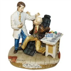 Статуэтка Дантист и пациент
