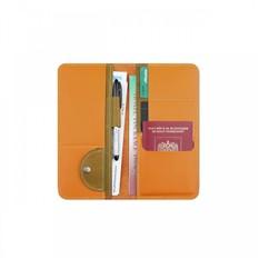Холдер кожаный для документов Artskill Travel (оранжевый)