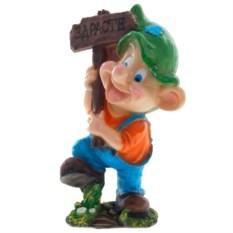 Декоративная фигура Мальчик с табличкой