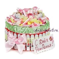 Торт-шкатулка С днём рождения
