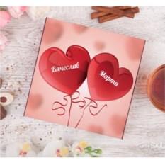 Именной набор конфет ручной работы «От всего сердца»