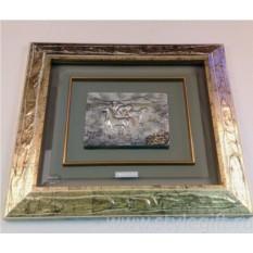 Картина Лошади (37х42 см)