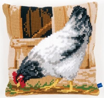 Набор для вышивания Vervaco Серая курица