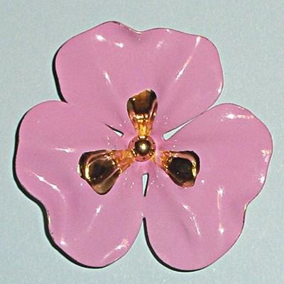 Винтажная брошь Цветок папоротника