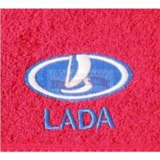 Махровое полотенце с логотипом Lada