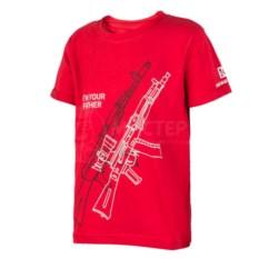 Красная детская футболка Im Your Father