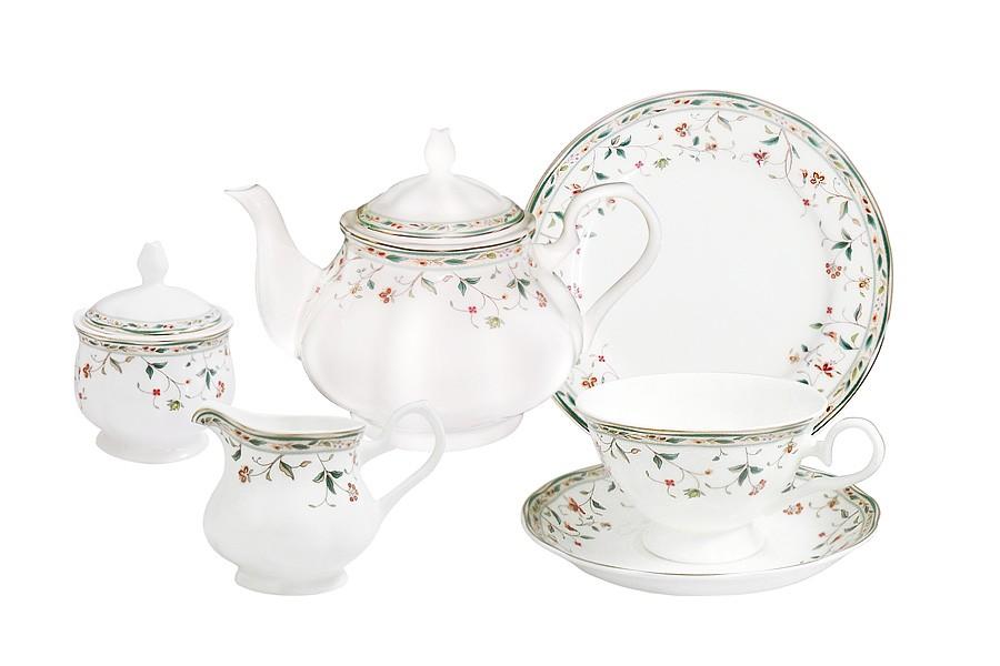 Чайный сервиз Флориана из 21 предмета на 6 персон