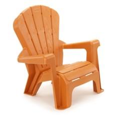 оранжевый садовый стульчик LittleTikes