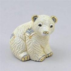 Керамическая статуэтка Полярный медвежонок