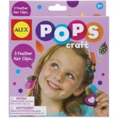 Набор для творчества POPS CRAFT Заколки перышки