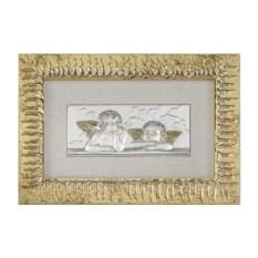 Картина Ангелы с золотыми крыльями