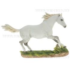 Декоративная фигурка Конь (цвет — белый)