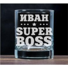 Бокал для виски Super Boss