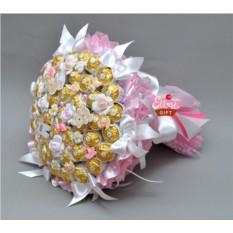 Букет из конфет С рождением девочки!